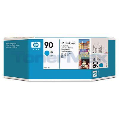 HP DESIGNJET 4000 NO 90 INK CYAN 400ML